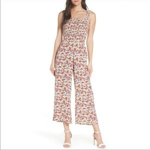 Faithfull the Brand Floral Jumpsuit